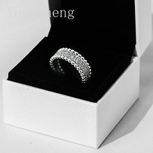 Beaded Pavé Band Ring (With Logo Jewellery Box)Women's