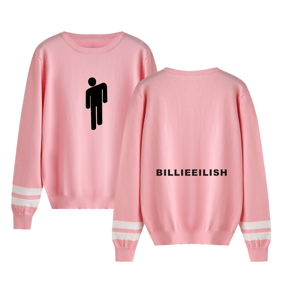 Billie Eilish Knitting Sweaters Men Women Warm Sweaters Streetwear Fashion O-Neck Couples Sweaters Harajuku Casual Sweaters