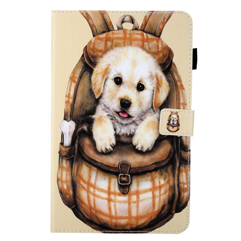 Cute Puppy Red Case for New iPad 10 2 2019 Tablet Funda Magnetic Stand Smart Cover for iPad 7th
