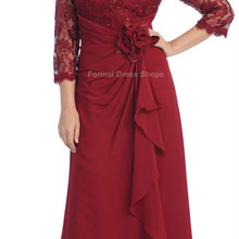 free shipping vestido de noiva 2018 PLUS SIZE vintage flower for weddings three quarter sleeve lace