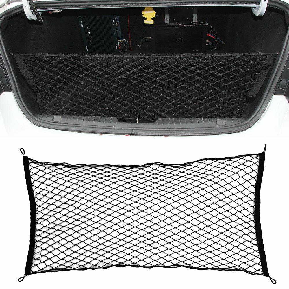 Большая автомобильная грузовая сетка нейлоновая эластичная сетка для хранения багажа внедорожник пикап 110*60 см