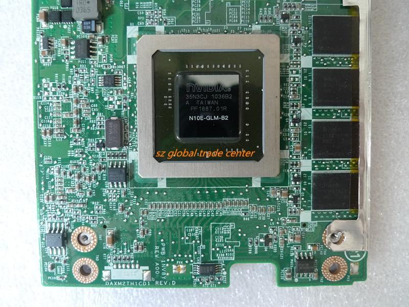 NVIDIA Quadro FX 2800M DDR3 3.0 N10E-GLM-B2 1GB Graphics Video Card 8740w