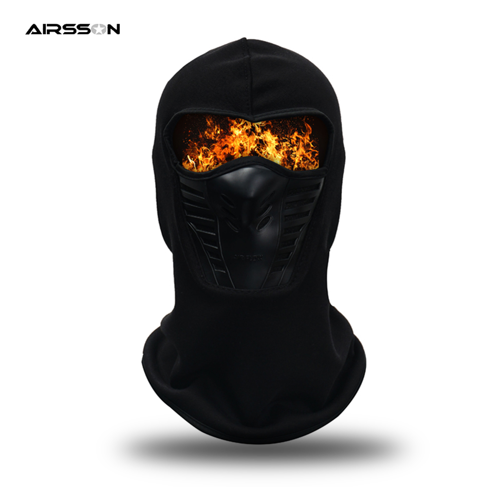 ROCKBROS Winter Cycling Thermal Face Mask Outdoor Dust-proof Sport Cap Big Size