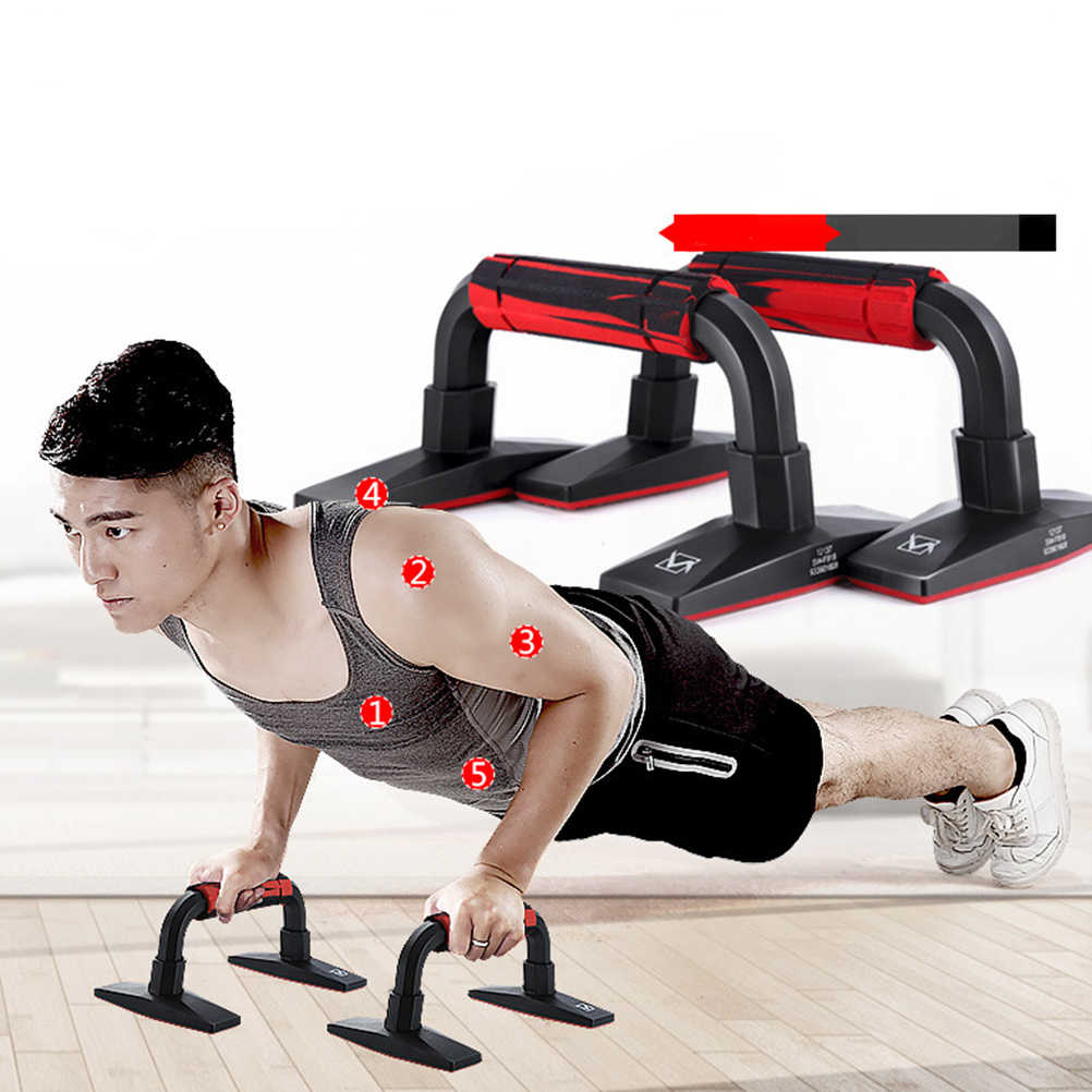 Push-up Push up Stand Bar for Workout Exercise fitness equipment H-shaped NEW