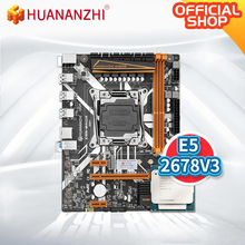 Intel Xeon E5 2678 Huananzhi X99 SATA NO with V3-Support ECC NON-ECC Memory-Combo-Kit-Set