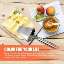 Cutter Cheese-Slicer Knife-Tools Cooking Kitchen Silver Steel Z1H5