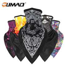 Scarf Magic-Mask Uv-Protection-Bandana Headband Gaiter-Cover Cycling Face Hiking-Neck