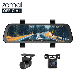 2020 New 9.35 Inch Full Screen 70mai Rearview Dash Cam Wide 1080P Auto Cam 130FOV 70mai Mirror Car Recorder Stream Media Car DVR(China)