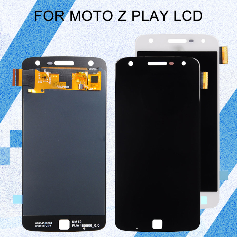 Catteny For Motorola <font><b>XT1635</b></font> LCD Screen For Moto Z Play Display With Touch Panel Glass Digitizer Assembly Free Shipping+Tools image