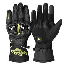 Winter Motorcycle Gloves 100% Waterproof Windproof Warm IRON Protective Gear Touch Screen Motocross Motorbike Riding Gloves цена
