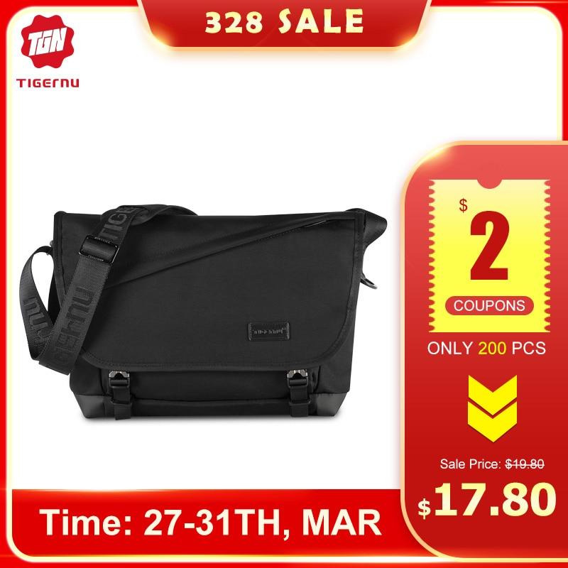 Tigernu Casual Messenger Bag Anti Theft Crossbody Bag Riding Shoulder Bag Original Oxford Sling Bag For Men