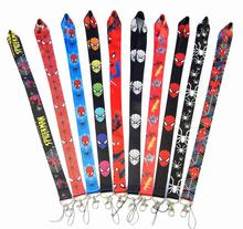 NEW Hot 92cm Avengers  Spiderman Key Lanyard ID Card Multipurpose Action figure toys doll collection Christmas gift B606