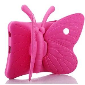 Для нового ipad 2 018 2017 3D мультфильм бабочка чехол для ipad 2 3 4 Чехол Детская безопасная подставка противоударный планшет чехол для ipad 5 6 pro9.7'