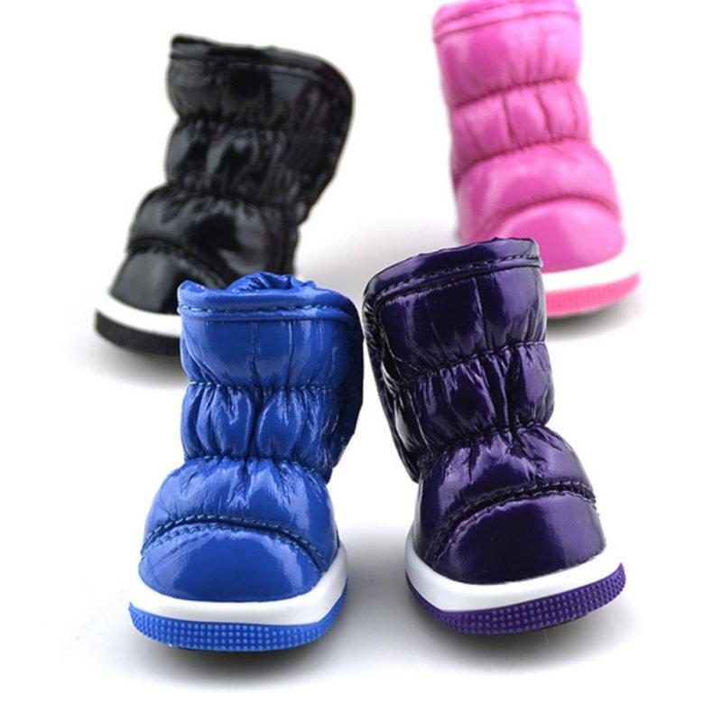 Winter Warm Dog Snow Boots