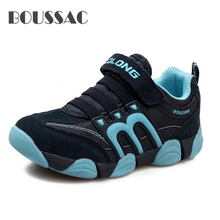 BOUSSAC Boys Shoes Casual Kids Sneakers Leather Sport Fashion Children Boy Sneakers 2019 Spring Summer New Brand 2019 new brand spring summer children shoes boys kids shoes casual kids sneakers breathable sport children boy sneakers tdtx1108
