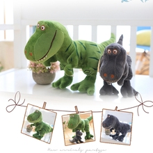 1pc 40cm/50cm/70cm/90cm New Dinosaur Plush Toys Cartoon Tyrannosaurus Cute Stuffed Toy Dolls for Kids Children Boy Birthday Gift