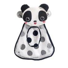 Детские игрушки для ванной милые с изображением утки, лягушки из сетчатого материала игрушка-сетка для хранения сумка Крепкие присоски ван...