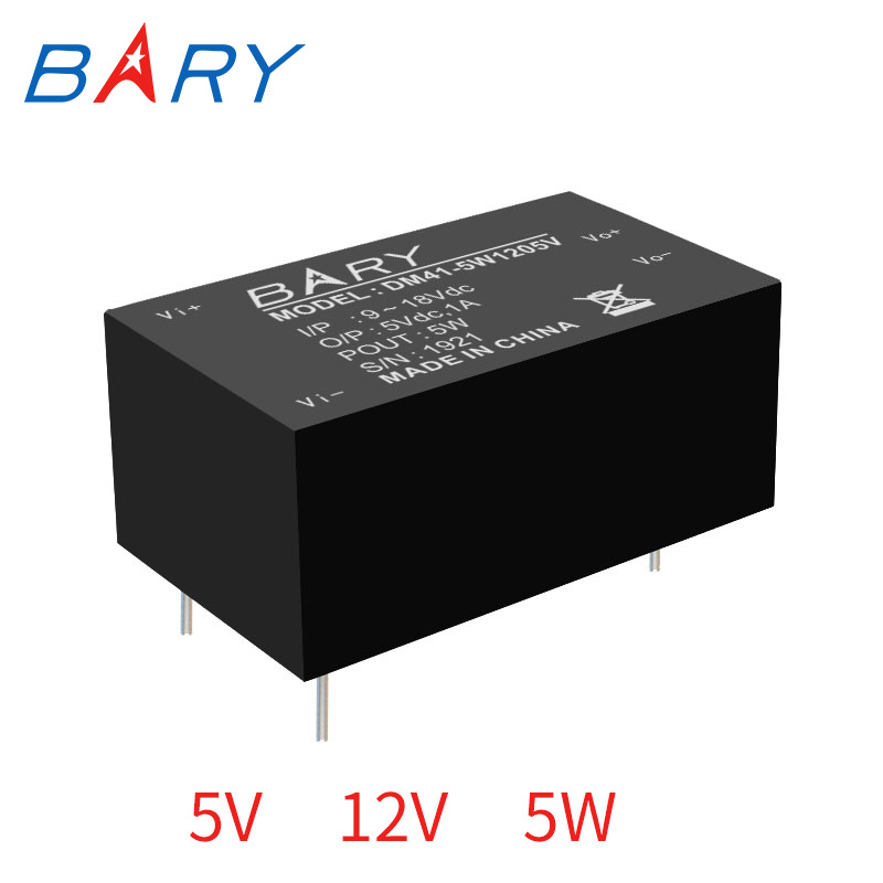 DC-DC Buck Isolated Module 9~18V To <font><b>5V</b></font> <font><b>1A</b></font> 5W Isolation Stable voltage 12V To <font><b>5V</b></font> Step down <font><b>Power</b></font> <font><b>Supply</b></font> Module DM41-5W image
