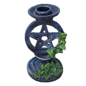 Candlestick Tabletop Home-Decor Pentagram for Divination Ceremony-Accessories Astrology