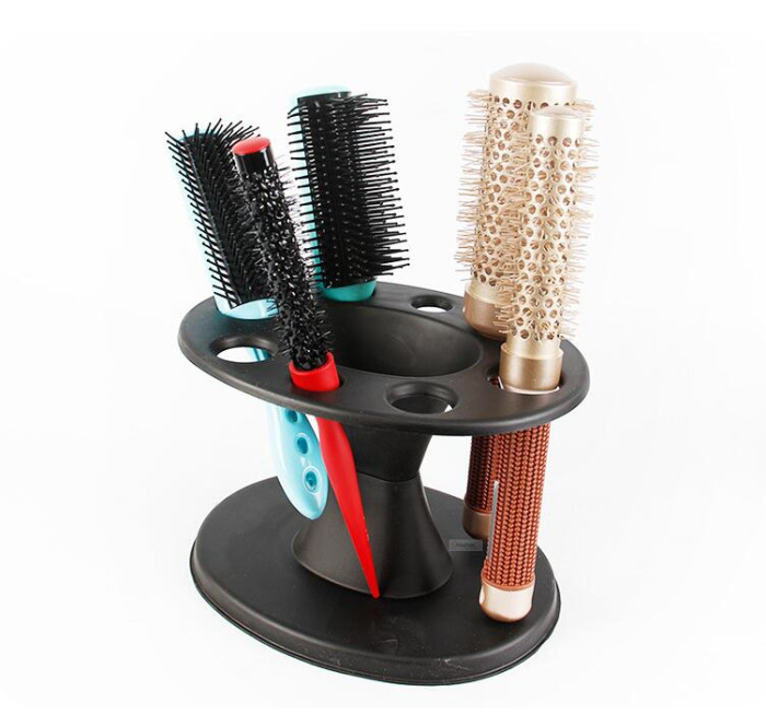 1pc Round Hair Tools Stand Salon Brushes Scissors Iron Roll Comb Accessories Holder Hair Styling Tools