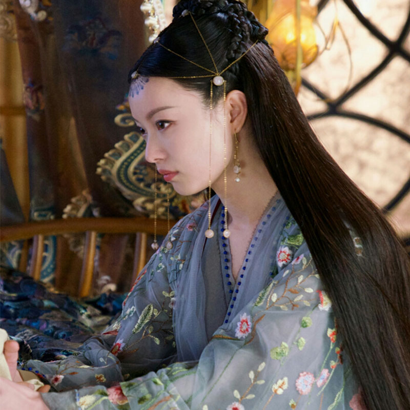 New Drama Chen Xi Yuan Love And Destiny Fairy Lingxi Delicate Embroidery Costume Aesthetic Hanfu Stage Performance Cosplay Hanfu