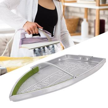 Aluminiowy ochraniacz materiał elektryczny płyta żeliwna pokrowiec na buty maszyna do prasowania akcesoria do tablic pomocniczych tanie i dobre opinie Metal MU1320251 Other Przenośne