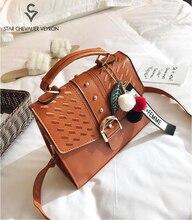 SCV 2020 Hot Sale Handbags for Women New Simple Bags Fashion Vintage Casual Ladies Shoulder Bag Women Handbag Wild Messenger Bag стоимость