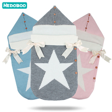 Medoboo Baby Sleeping Bag Newborns Envelope for Discharge Diaper Cocoon Hunters Maternity Hospital Kit
