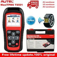 Autel MaxiTPMS TS501 315/433Mhz narzędzie do programowania TPMS aktywuj czujniki TPMS odczytuje/kasuje kody systemu TPMS skaner OBD2