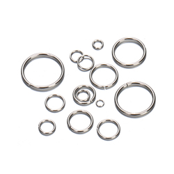 200pcs/lot Stainless Steel Open Jump Rings Bracelet Necklace Earring Pendant Connectors for Jewelry Making Components Crafts DIY