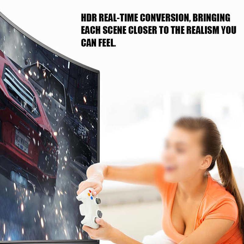 TV LCD inteligente de 32 pulgadas con pantalla curva, televisor Digital ultrafino, con inteligencia Artificial, 100% de voz