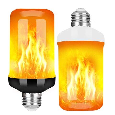 e27 chama bulbo 85 265 v 9 w led efeito de chama luz de fogo