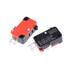 5pcs/lot 250V 16A Microwave Oven Door Arcade Cherry Push Button SPDT 1 NO 1 NC Micro Switch V-15-1C25
