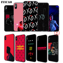IYICAO The Weeknd Soft Phone Case for iPhone 11 Pro XR X XS Max 6 6S 7 8 Plus 5 5S SE Silicone TPU
