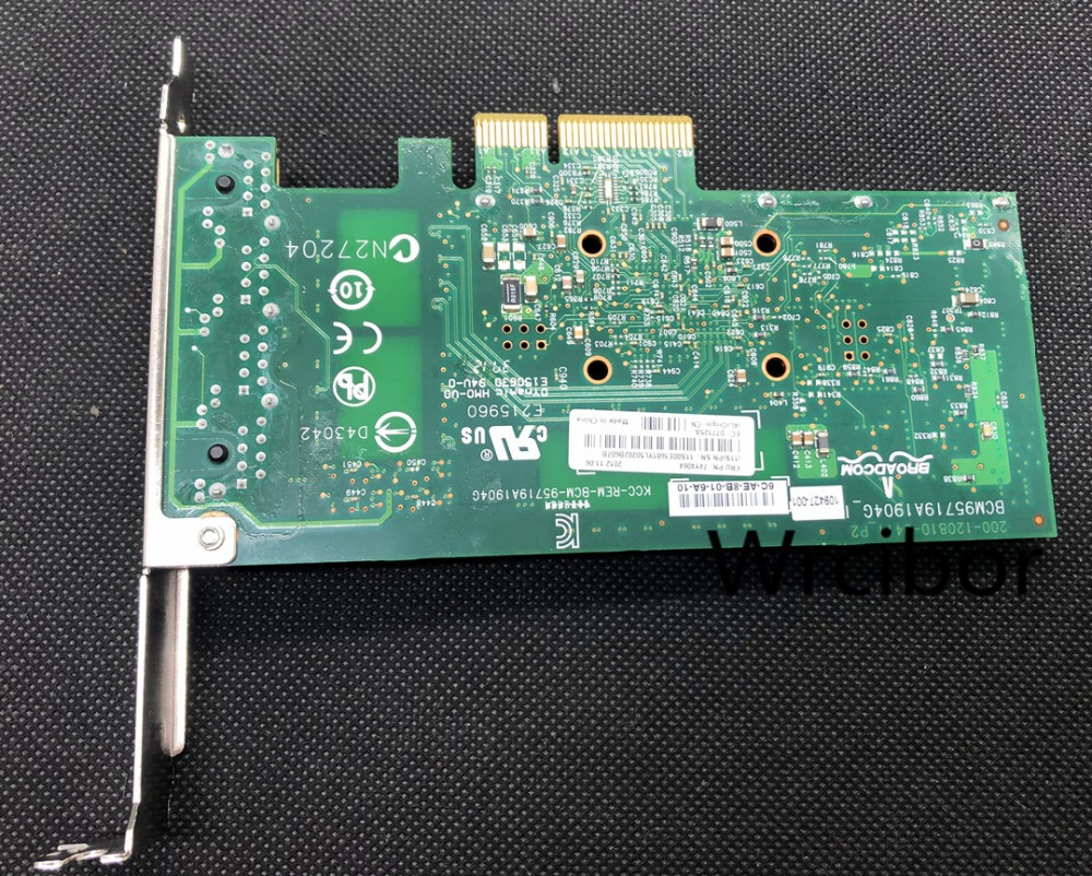 Dell Broadcom BCM5719 1GB Quad-port PCIe Gigabit Ethernet Network Card TMGR6