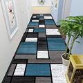 Минималистичный ковер для коридора, длинный ковер для коридора, геометрический ковер для гостиной, ковер для кухни, коврик для коридора, дек...