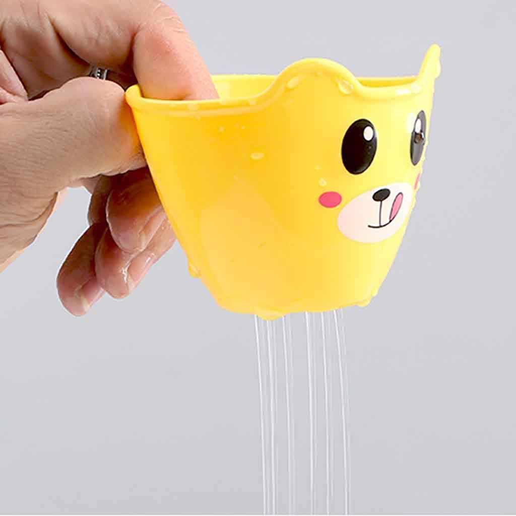 유아 소년 귀여운 원숭이 스프레이 장난감 아기 목욕 샤워 재미 수영 물 장난감 애벌레 귀여운 곰 컵 스타 아이를위한