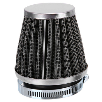 TaperedMotorcycle Air Filter Mushroom Head Clamp-on Pod Filter Motorcycle Modification Accessories Caliber 35 / 39 / 48 / 50mm