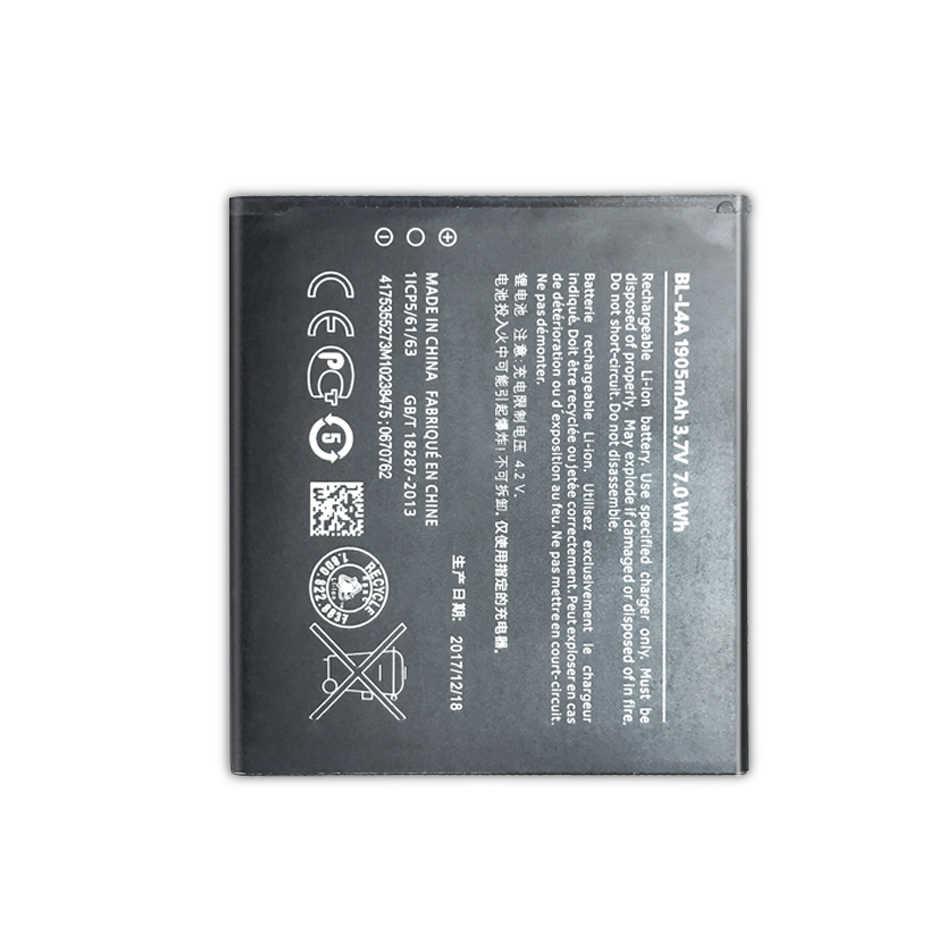 بطارية الهاتف المحمول لمايكروسوفت نوكيا Lumia 535 RM-1090 RM-1089 المزدوج 830 RM-984 استبدال بطارية BL L4A BL-L4A 1905mAh