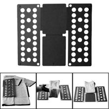 1Pcs Clothes Folding Board T Shirts Folder Easy and Fast for Kid To Fold Clothes Folding Boards Laundry Folders Garment Board clothes folding board fast cloth folder plastic t shirts jumper organizer save time quick convenient stacking laundry fold board