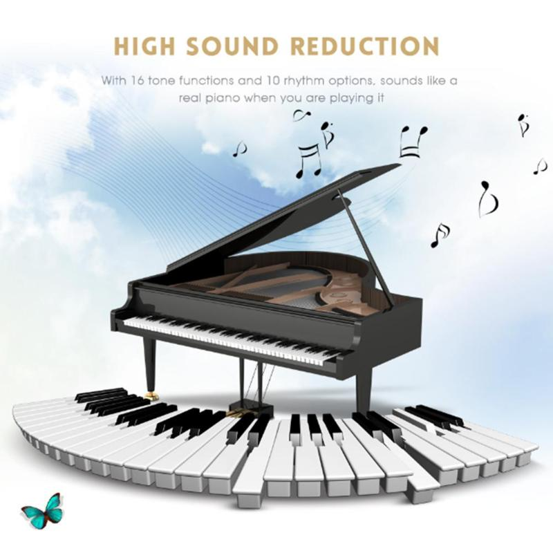 Купить с кэшбэком Portable Flexible Digital Keyboard Piano 49 Keys Flexible Silicone Electronic Roll Up Piano Children Toys Built-in Speaker
