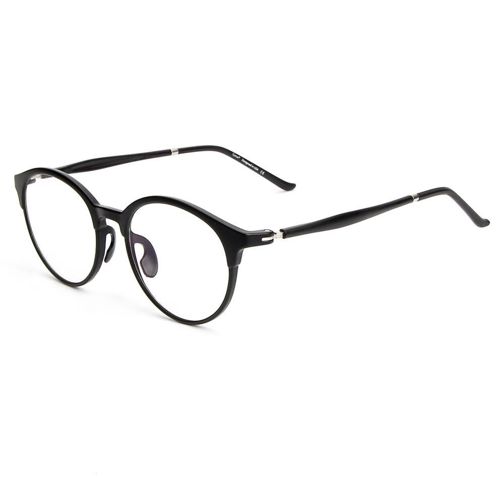 Cyxus Anti Blue Light Computer Glasses for Blocking UV Eye Strain Reading Eyewear Lightweight Ultem Frame for Unisex, 8066