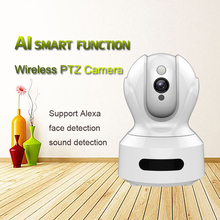 PTZ Wireless IP Camera 1080P smart H.264 IR Night Vision Voice Call WiFi Camera Home Security Surveillance support Alexa