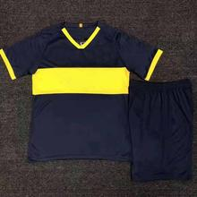 2019/2020 blank football shirt football uniform and shorts adult sportswear football training suit sportswear custom various old football jerseys matching suit football training suit blank customizable sportswear suit