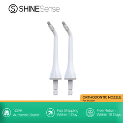 ShineSense Portable Oral Irrigator Dental Water Flosser Replacement Universal Nozzle Tips for SIO-200