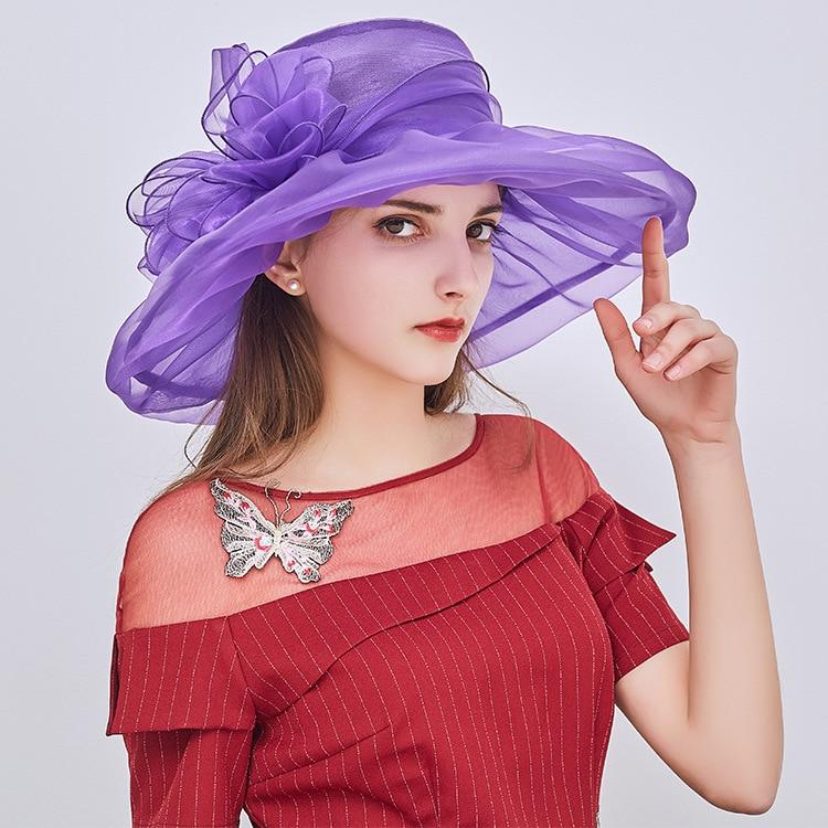 Wedding Hats For Women Sombreros Elegant Para Bodas Fascinators For Weddings Hat Chapeau Mariage Femme Wedding Accessories