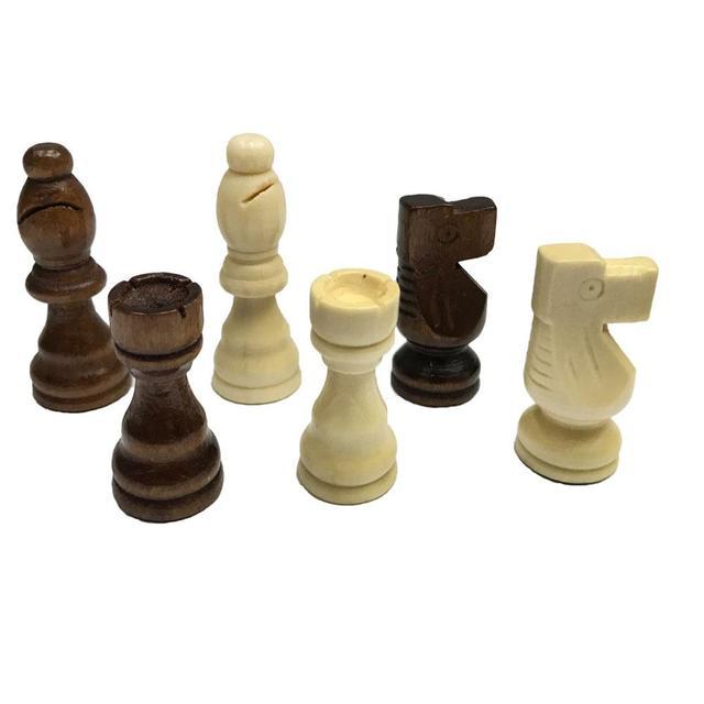 Ensemble d'échecs 32 pièces de 7.7cm, 4