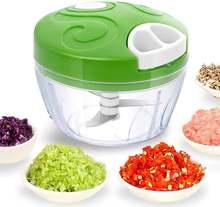 Ручной измельчитель для еды простой ручной лука прочный кухонный