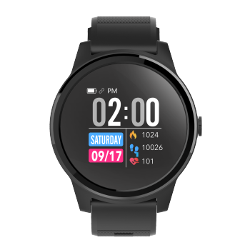 ECG PPG Heart Rate Monitor IP67 Waterproof Smart Watch