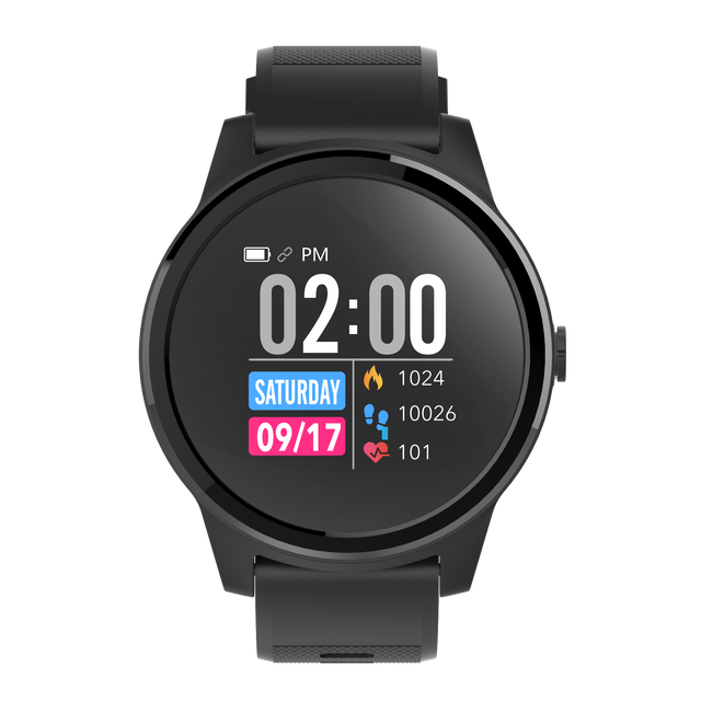 ECG PPG Heart Rate Monitor IP67 Waterproof Smart Watch